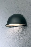 wall lamp 84878 modern metal black round
